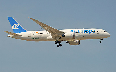 Air Europa - Boeing 787-8 (foto: Alan Wilson/Wikimedia Commons - CC BY-SA 2.0)