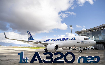 První Airbus A320neo pro Air Corsica (foto: Airbus)