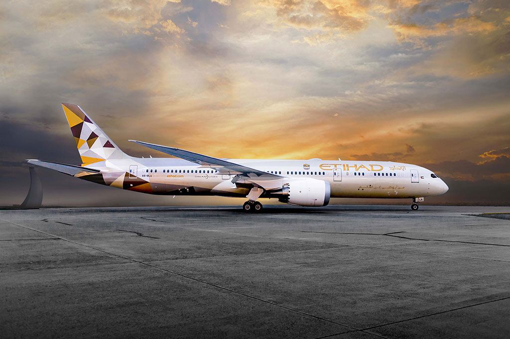 Etihad Airways - Boeing 787 Dreamliner (foto: Etihad Airways)