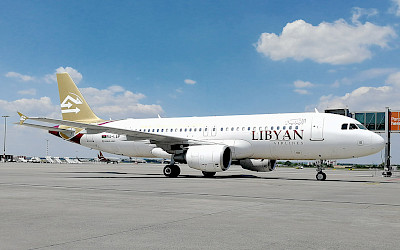 Libyan Airlines - Airbus A320