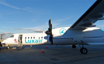 Luxair - Dash 8-400